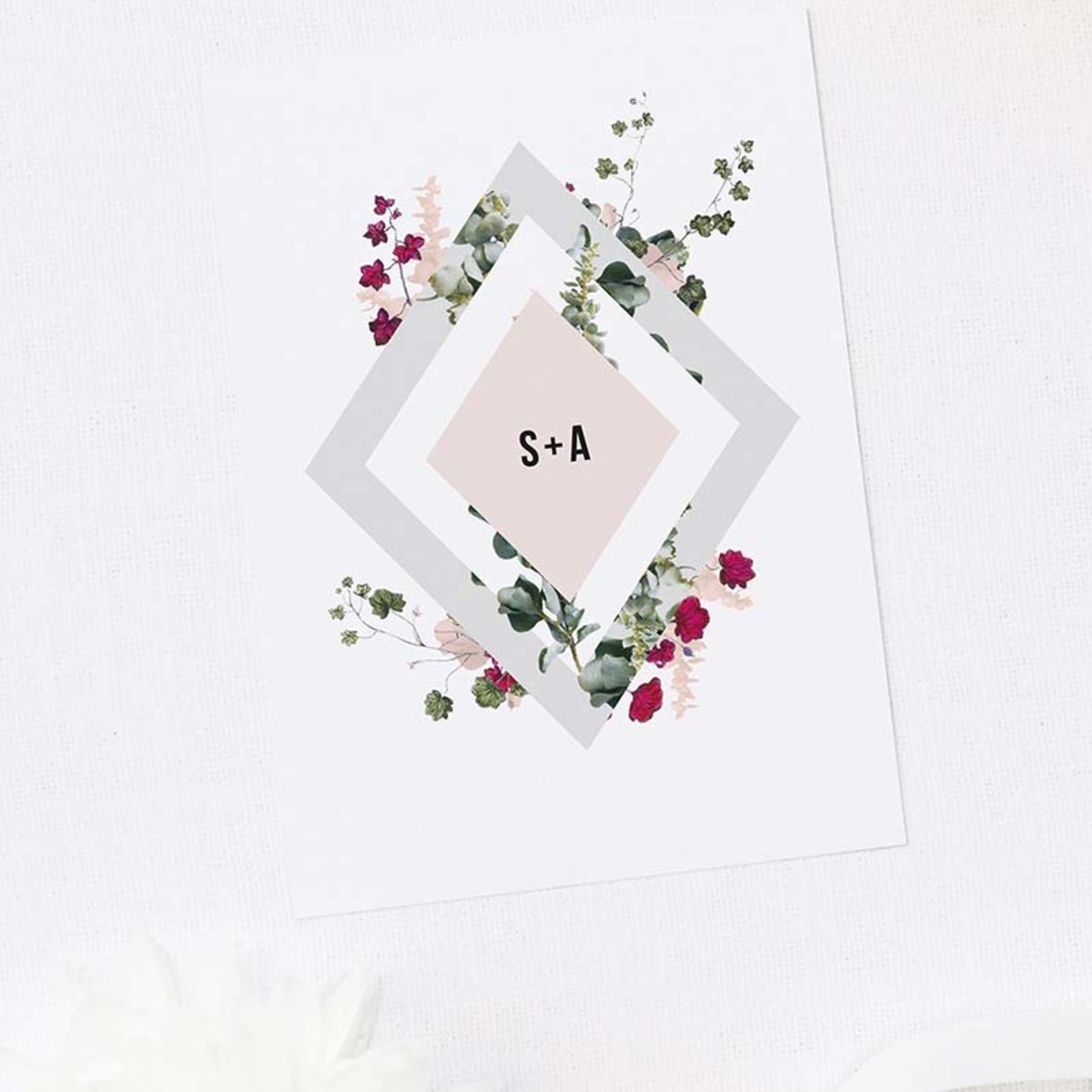 Square berries wedding collection 1