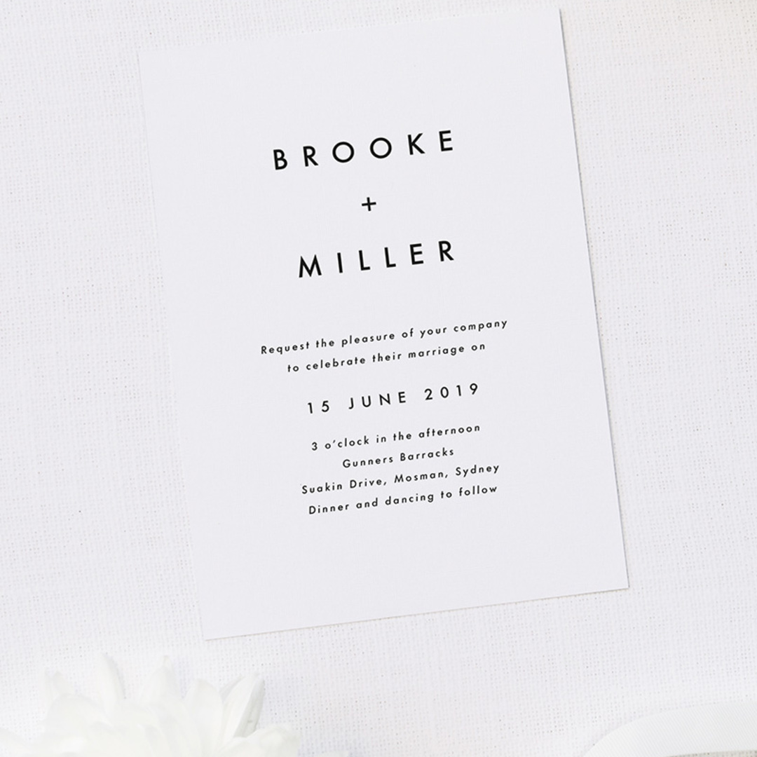 Square berries wedding collection 2