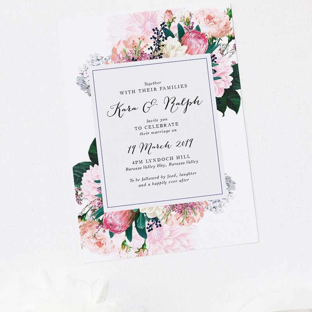 Square berries wedding collection b