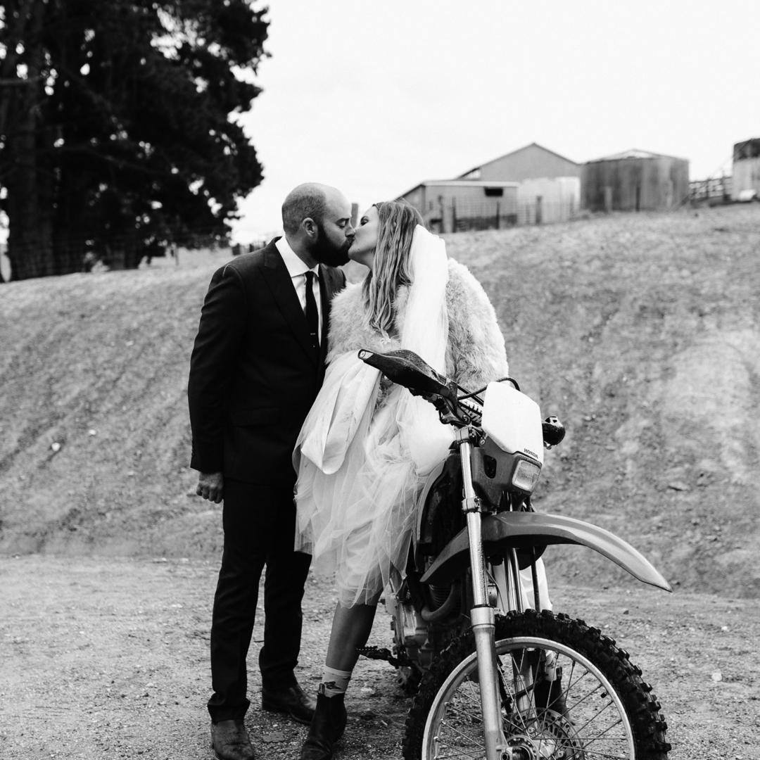 Square photographybyrenata modern cool bride wedding country nsw 1485